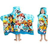 "Franco Kids Bath and Beach Soft Cotton Terry Hooded Towel Wrap 24"" x 50"" HH4648"