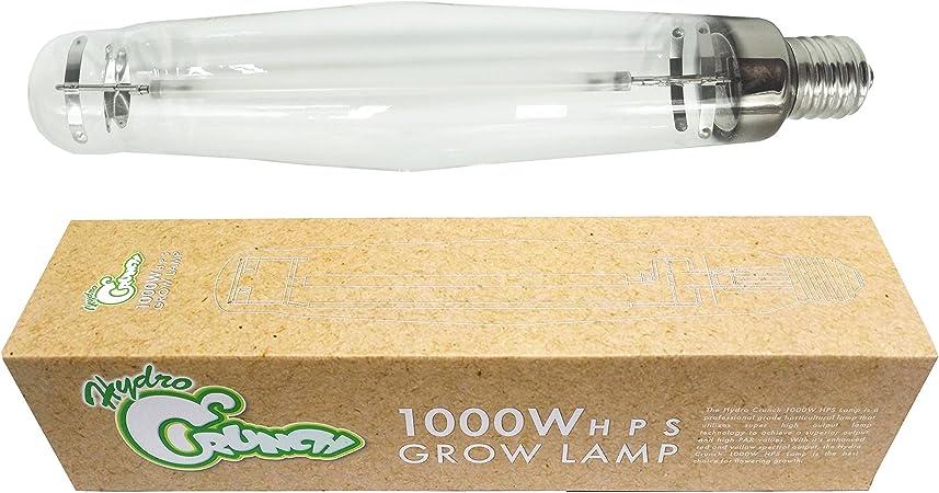 Amazon Com Hydro Crunch 1000 Watt High Pressure Sodium Hps Grow Light Bulb Lamp Garden Outdoor