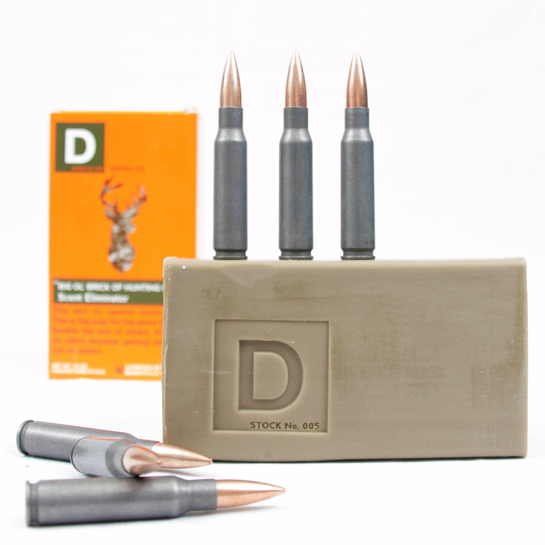 Duke Cannon Big 'Ol Brick of Hunting Soap - Scent Eliminator, 10 oz. (Pack of 2)