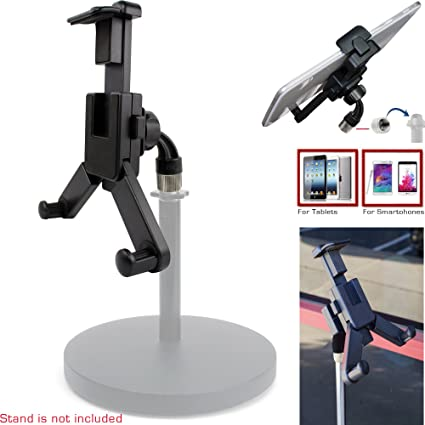 buy popular 9c0da 8deb4 ChargerCity 360° swivel Smartphone Tablet Mount Holder w/ 5/8