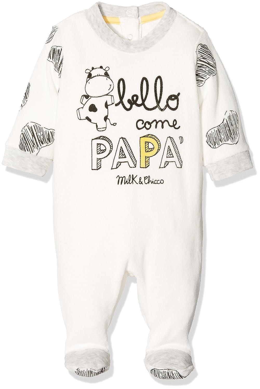 Chicco Pelele para Bebés Chicco 9021500 (Bianco/Nero) (Talla del Fabricante: 056) 9021500000000