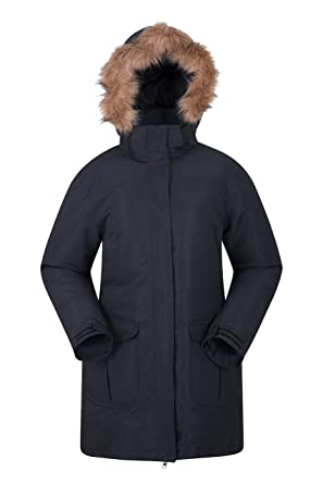 new arrival e42e1 76a01 Mountain Warehouse Tarka Damenjacke - Lang, gefütterte ...