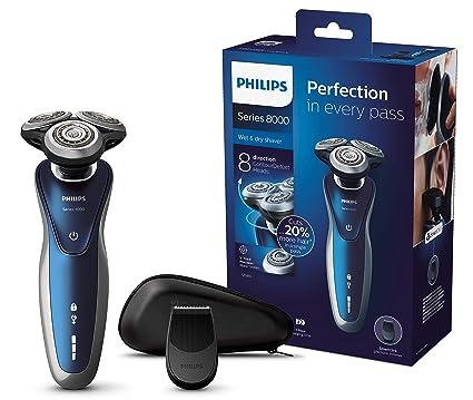 Philips SHAVER Series 8000 S8980 13 - Afeitadora (Máquina de afeitar de  rotación 52cdfc1b98df