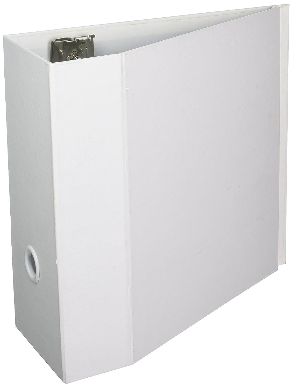 aurora-gb aurora-gb aurora-gb elementos Ultra Eco-friendly D-Ring almacenamiento cartón, 12,7 cm capacidad, tamaño carta, color blanco bba644