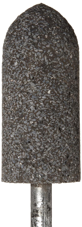 "Norton Abrasives 61463616475 Zirconia Alumina 1/"" Dia Grinding Stone 5 pack"
