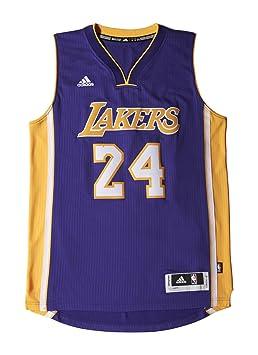 4e7b36c90 adidas A45975 NBA Los Angeles Lakers International Swingman Jersey  24 Kobe  Bryant (Purple