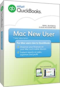 QuickBooks Mac 2016 New User Small Business Accounting Software [Old Version]