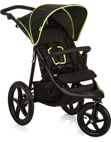 Hauck Runner - silla de paseo, silla running con 3 ruedas neumaticas, plegado compacto