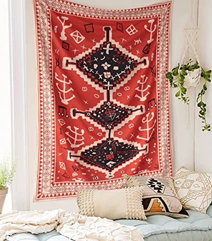 Amazon Morocco Inspired Wall Tapestry Fabric Wallpaper Home Decor60x 80Twin Size Kitchen
