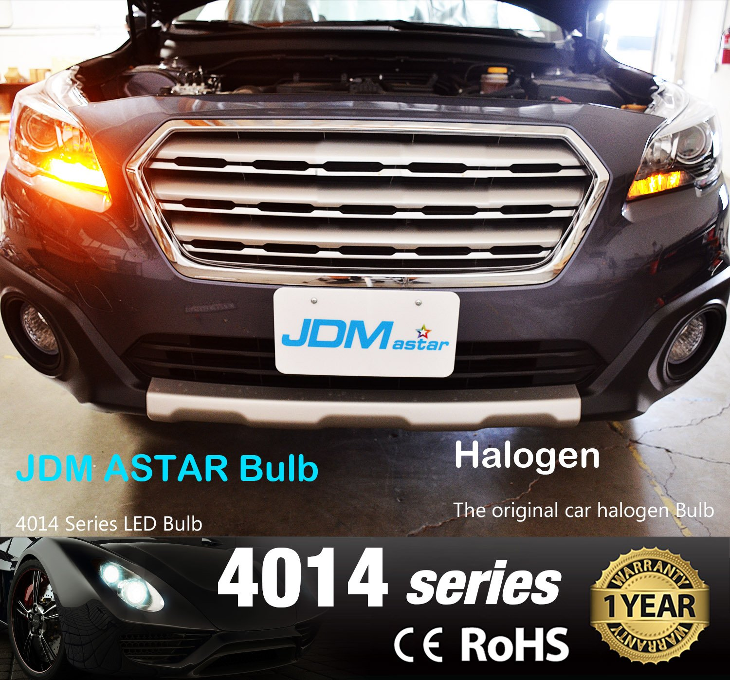 JDM Astar 2 G Super Bright 3035 Chipsets 1157 2057 2357 7528 Amarillo Luces LED: Amazon.es: Coche y moto