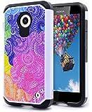 Nokia Lumia 635 Case, Nokia Lumia 630 Case, NageBee Design Premium [Heavy Duty] Defender [Dual Layer] Protector Hybrid Case for Nokia Lumia 630 & 635 (Hybrid Rainbow Illusion)