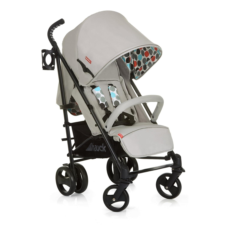 Hauck//Fisher Price Go-Guardian Venice Stroller//incl Bottle Holder//extendable Canopy//Ergonomic Handles Gumball Grey