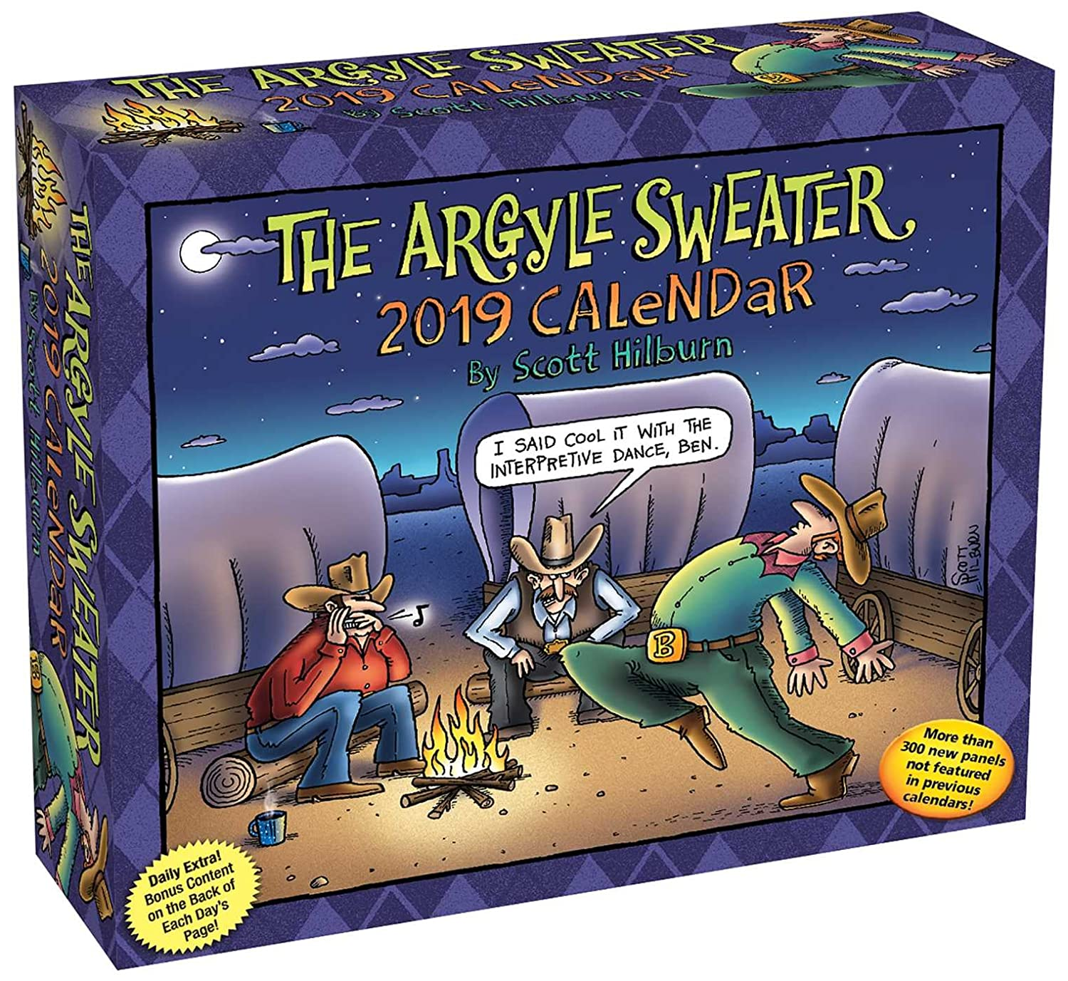 The Argyle Sweater 2019 Day-to-Day Calendar Scott Hilburn Andrews McMeel Publishing 144949207X Calendars