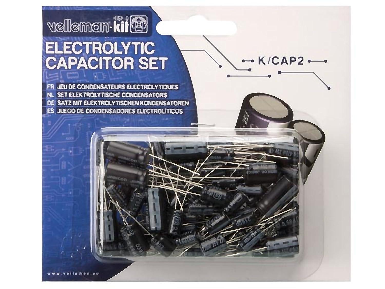 Velleman K//CAP2 Electrolytic Capacitor Set