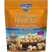 Macadamia Nuts   MacFarms Dry Roasted Macadamia Nuts (24 Ounce) - Premium Roasted Nuts with Sea Salt Fresh From Hawaii…
