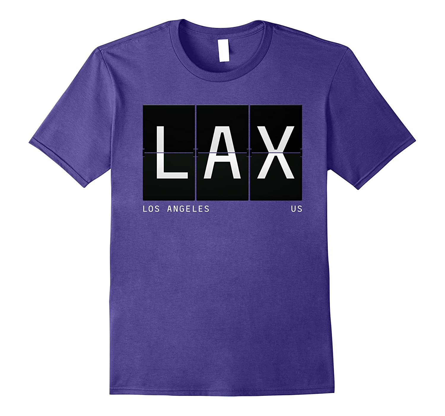 LAX Los Angeles California US World Traveler T Shirt-Art