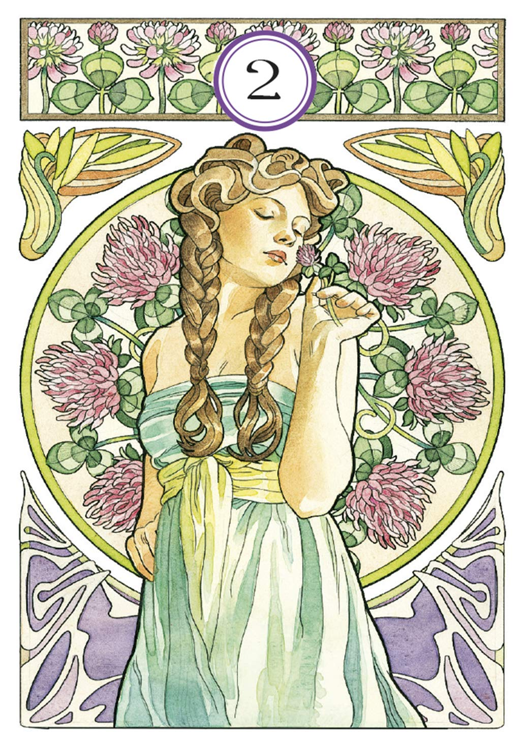 Art Nouveau Lenormand Oracle: Lunaea Weatherstone, Antonella ...