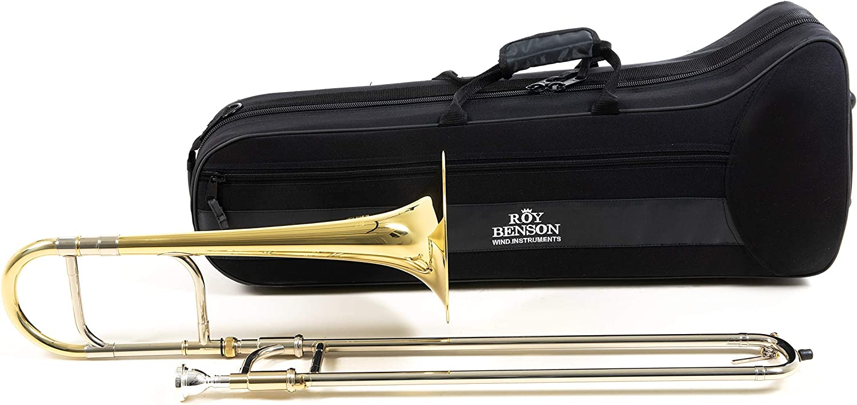 Roy Benson RB701121 - Trombón alto en Mib AT-201, acabado lacado, estuche ligero: Amazon.es: Instrumentos musicales
