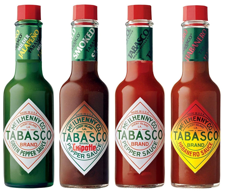 Tabasco Salsa - Juego de 4 sabores (60ml) - En caja: Amazon.es: Alimentación y bebidas