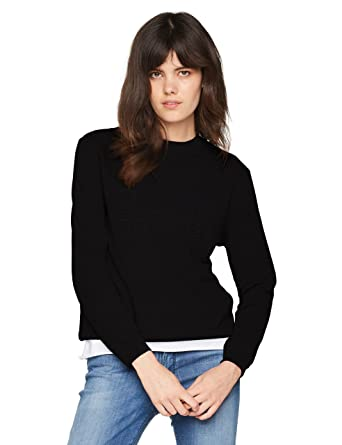 7407e6360bd BOSS T-Shirt À Manches Longues Femme  Amazon.fr  Vêtements et ...