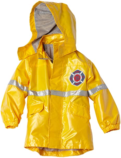 Amazon.com: De Carter Little Boys Fireman Lluvia Slicker, 4 ...