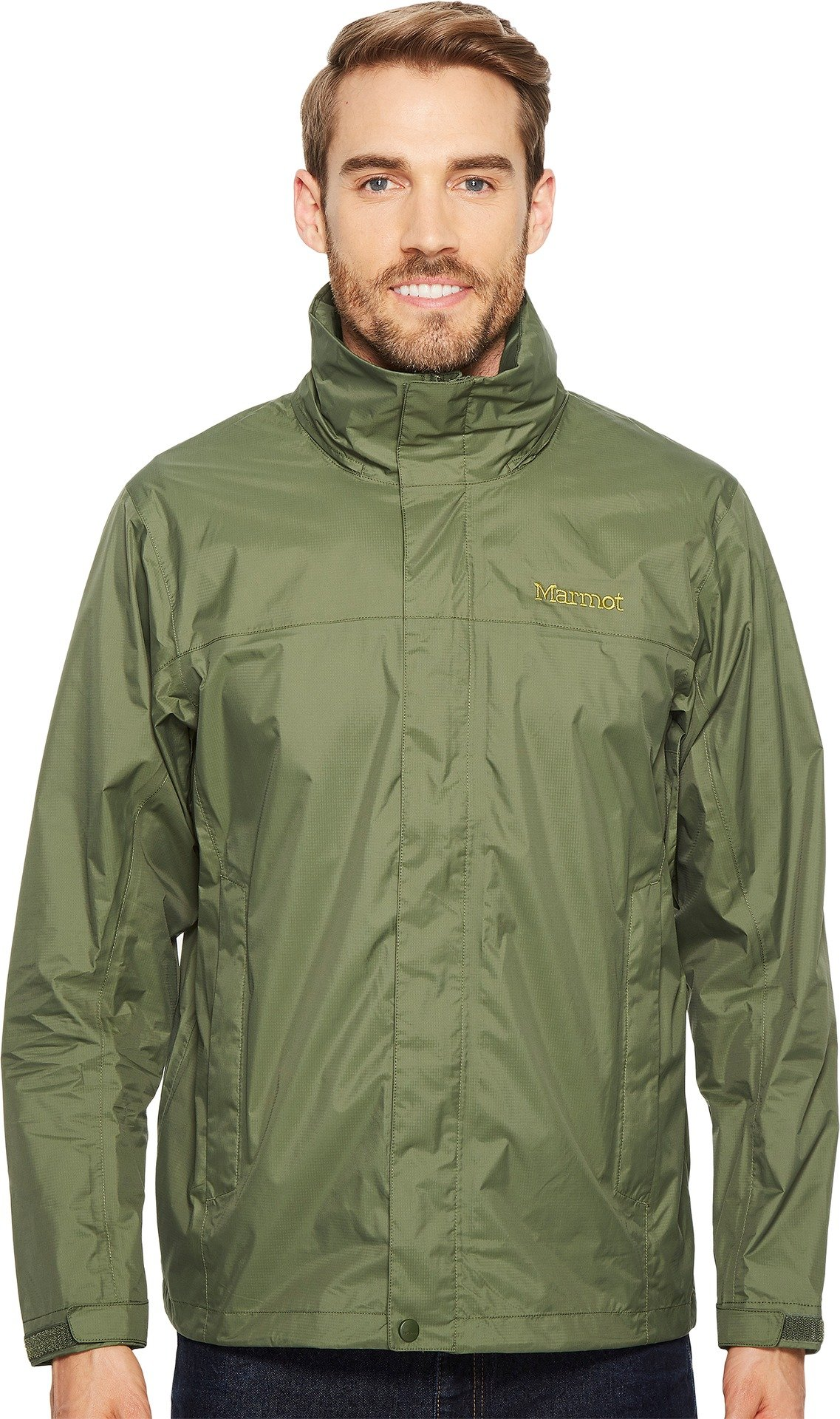 Marmot Men's PreCip Jacket Crocodile Medium by Marmot