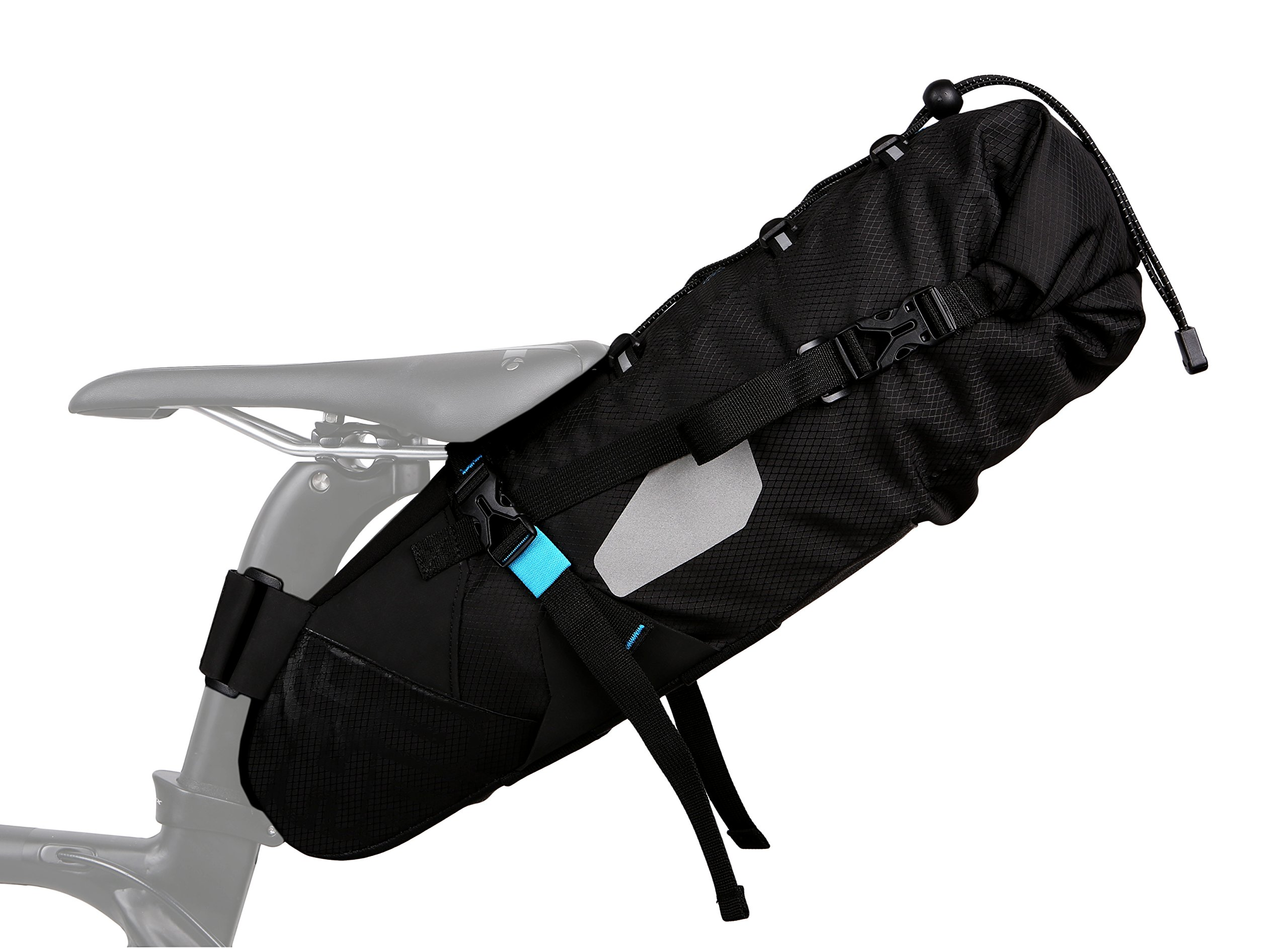 Roswheel ATTACK Series 131372  Waterproof 3-10 Liters Capacity Cycling Accessories Bag Bike Saddle Bag Bicycle Seat Pack Cycling Tail Pouch by Roswheel