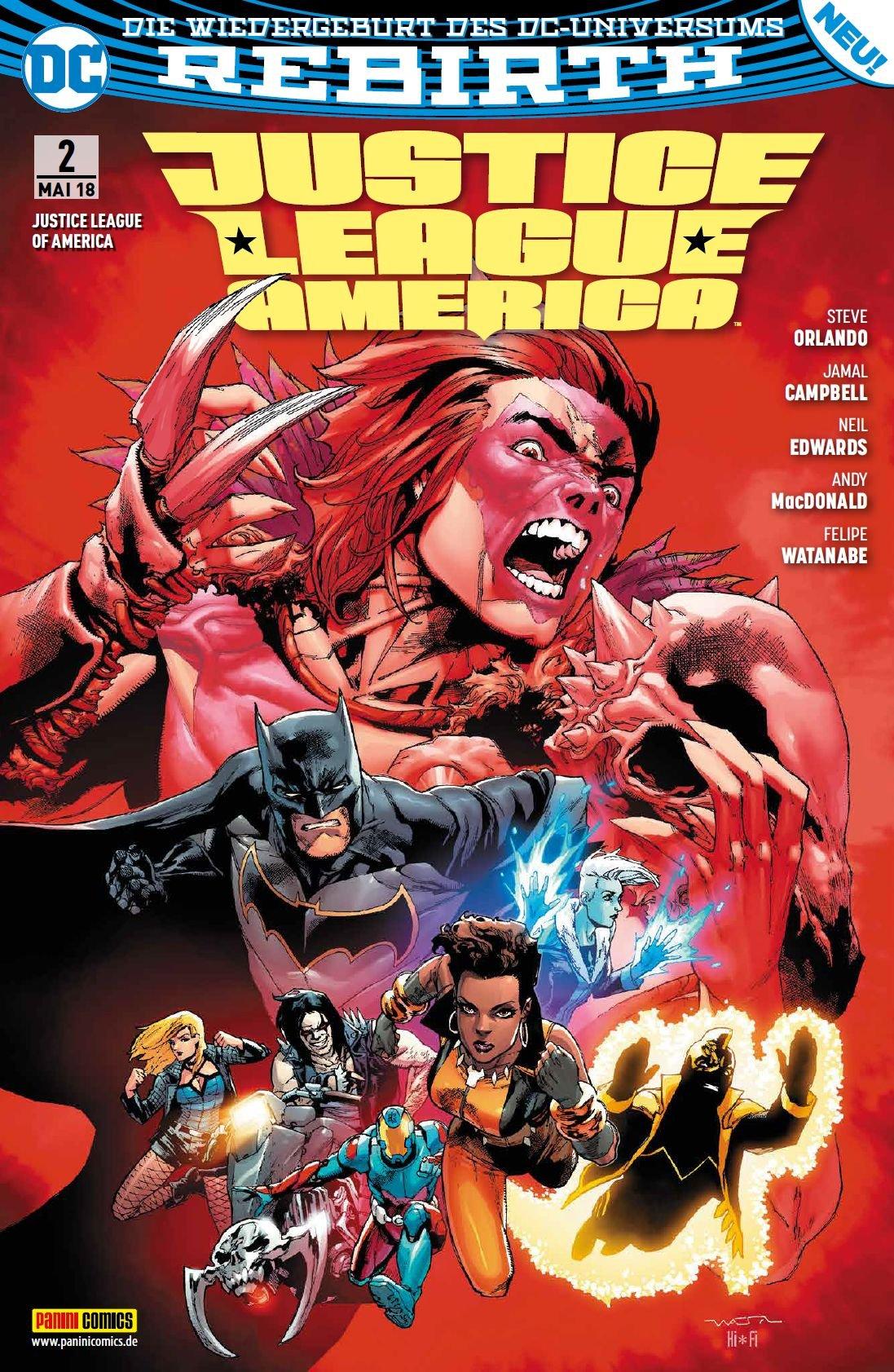 Justice League of America: Bd. 2: Der Fluch des Kingbutcher