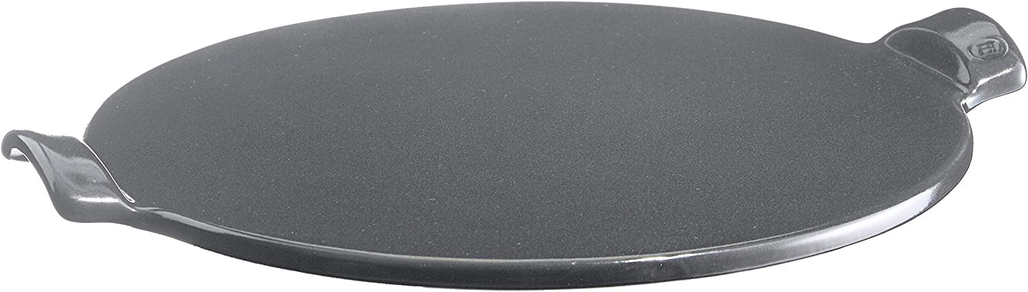 Emile Henry Made in France Flame Top Pizza Stone, Granite. Perfect for Pizzas or Breads