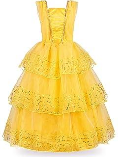 6b81aa4a8 Amazon.com  Disney Belle Ball Gown Prestige Movie Costume