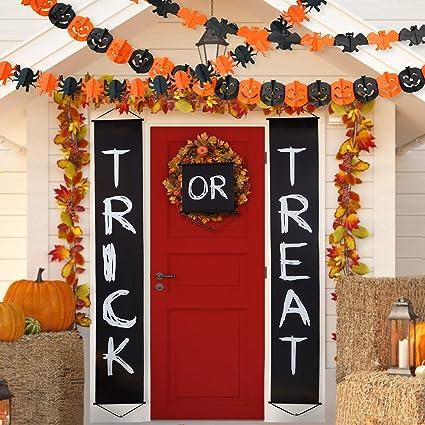 amazon com blulu halloween decoration set trick or treat halloween