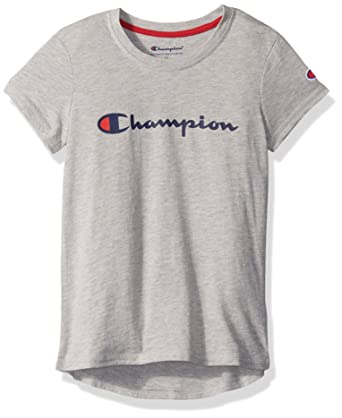 9dc2d19a9 Amazon.com: Champion Heritage Girls Ahtletic Short Sleeve Tee: Clothing