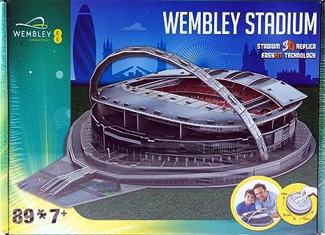 Build Your Own Wembley 3D Stadium Puzzle