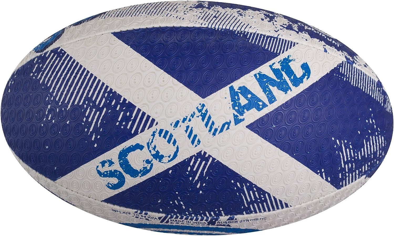 Optimum Balón de Rugby de Las Naciones - Escocia, Talla 3: Amazon ...
