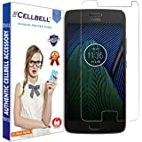 CELLBELL® Motorola Moto G5S Plus (front-nano) Screen Protector With FREE Installation Kit.