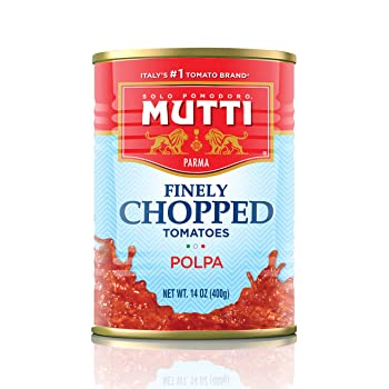 Mutti Italy Finely Chopped 14-oz Canned Tomatoes
