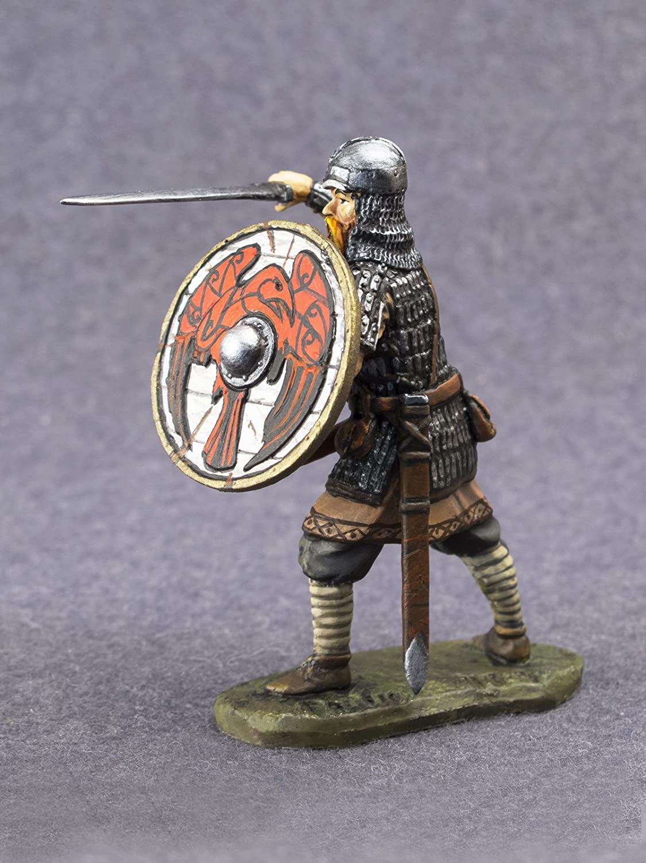 Amazon.com: Viking Hombre Historical pintado Estaño Metal ...