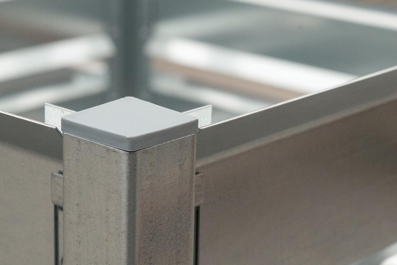 De metal compostador, 109 x 100 cm, 1200 L, ampliable ...