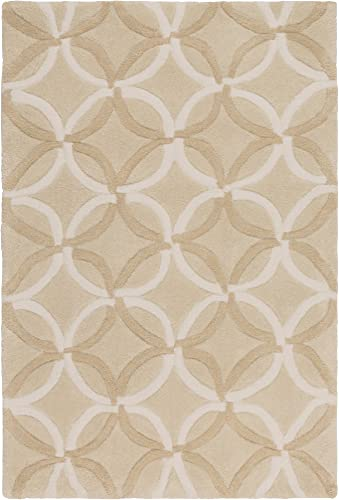 Surya COS-8869 Cosmopolitan Tan 2-Feet 6-Inch by 8-Feet Area Rug