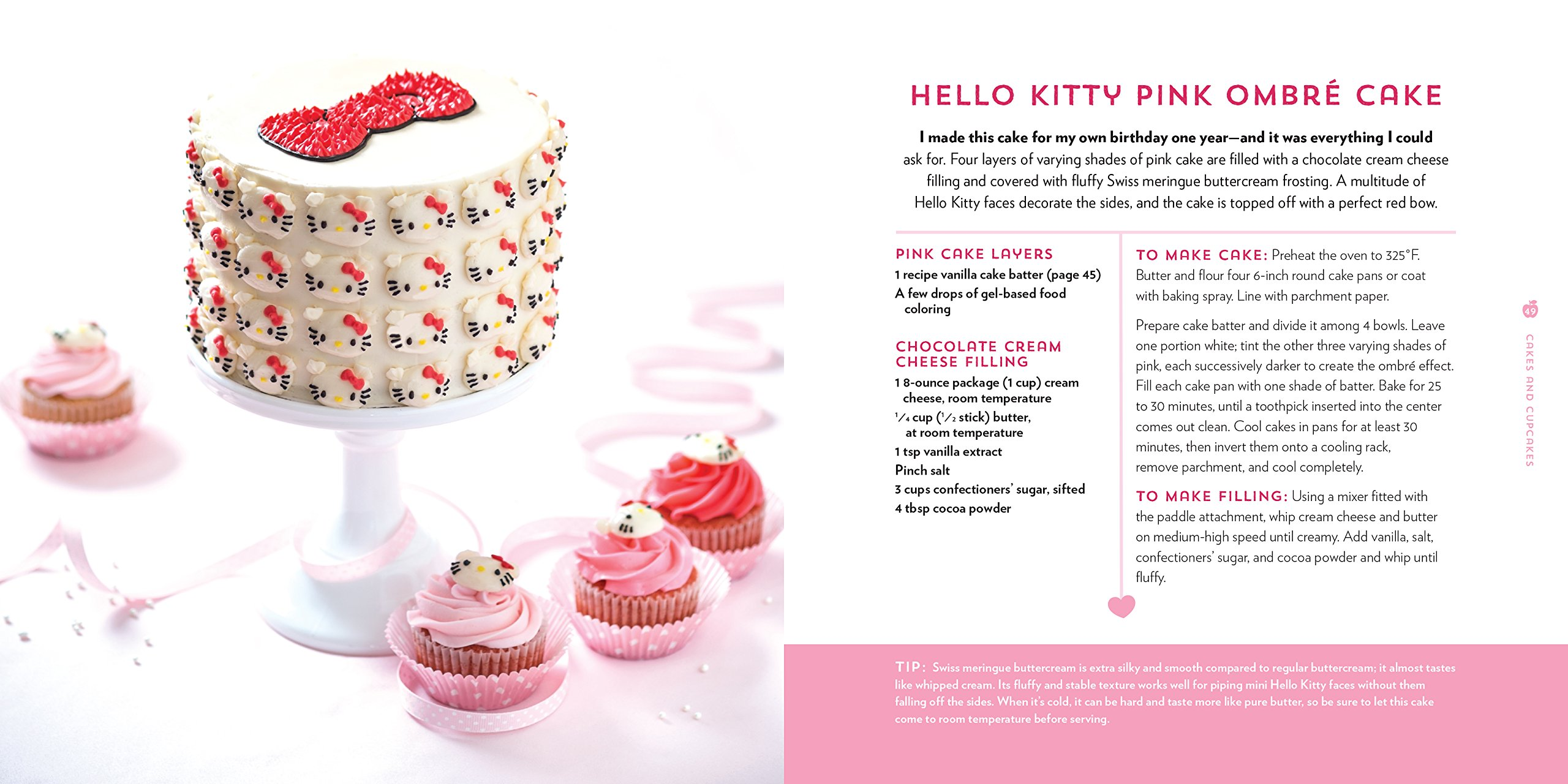 The Hello Kitty Baking Book Recipes For Cookies Cupcakes And More Amazonde Michele Chen Chock Fremdsprachige Bucher