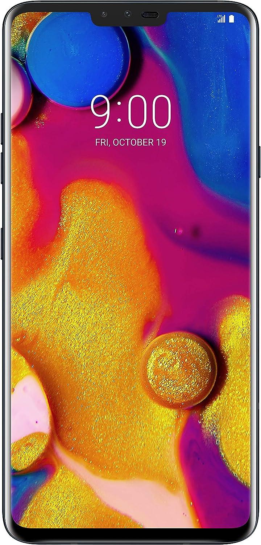 LG Electronics LG V40 Factory Unlocked Phone - 6.4Inch Screen - 64GB - Black (U.S. Warranty)