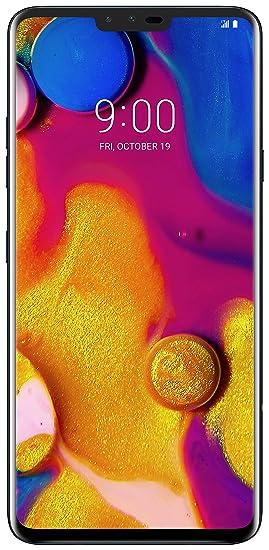 LG Electronics LG V40 Factory Unlocked Phone - 6 4Inch Screen - 64GB -  Black (US Warranty)