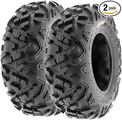 Best Rated Off Road Tires >> Set Of 2 Sunf Power Ii 19x7 8 Atv Utv Off Road Tires All Terrain 6 Pr Tubeless A051