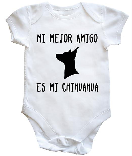 HippoWarehouse MI MEJOR AMIGO ES MI CHIHUAHUA body bodys pijama niños niñas unisex