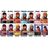 Bandana US Durag Rose - Gangsta Rap - West coast - USA Du rag - Airsoft - Paintball - Hip hop - Moto - Biker - Outdoor