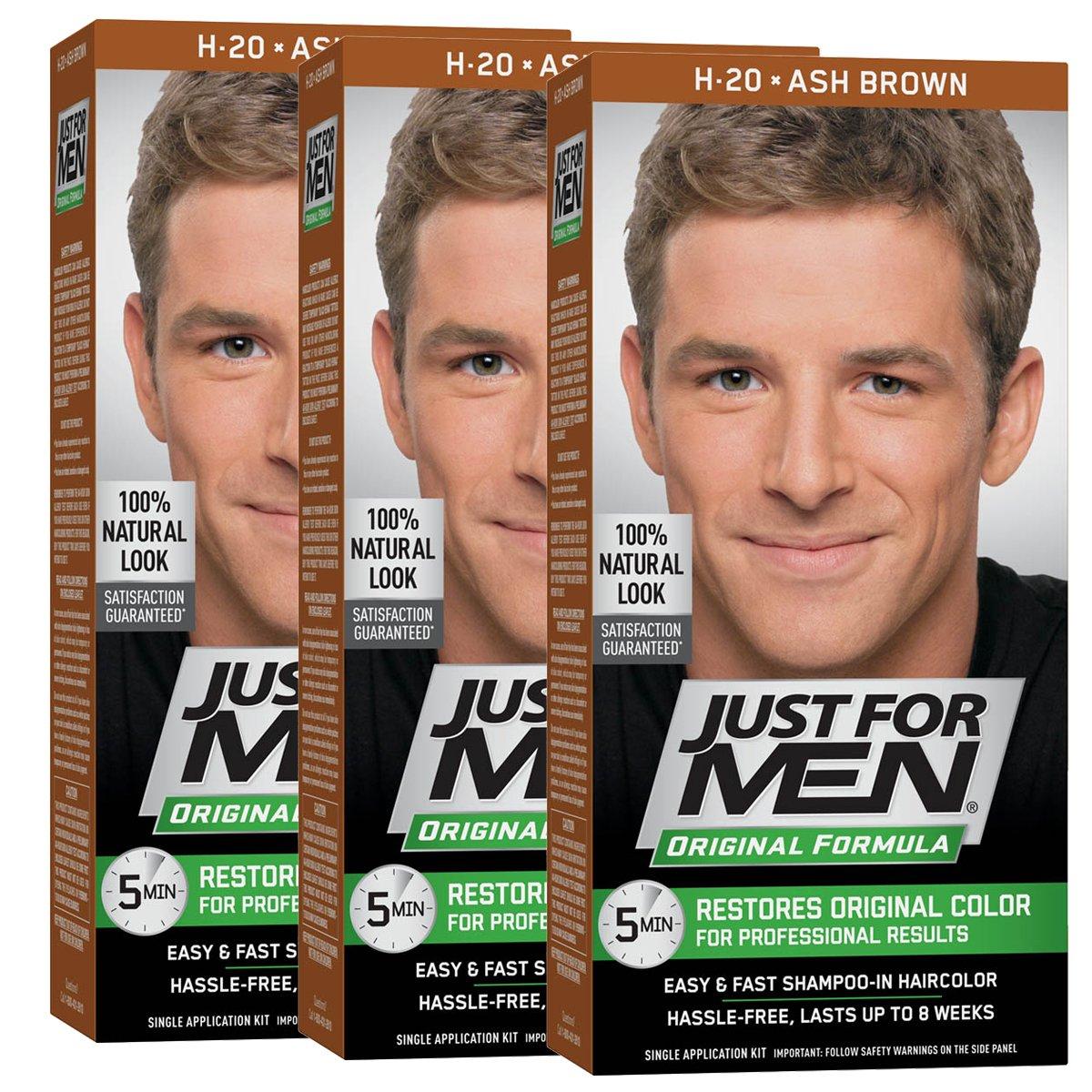 Amazon Just For Men Original Formula Mens Hair Color Ash