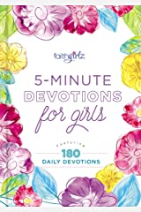 5-Minute Devotions for Girls: Featuring 180 Daily Devotions (Faithgirlz) Hardcover