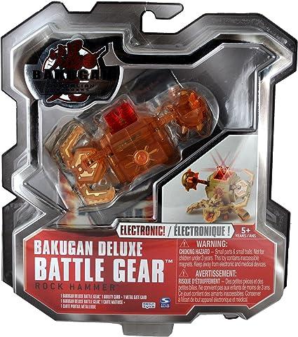Bakugan Rock Hammer Tan Copper DNA Battle Gear Gundalian 70g Buy 3 Get 1 Free!