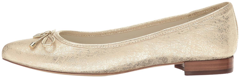Anne Klein Women's OVI B(M) Ballet Flat B01N8XZBSS 12 B(M) OVI US|Gold bea092
