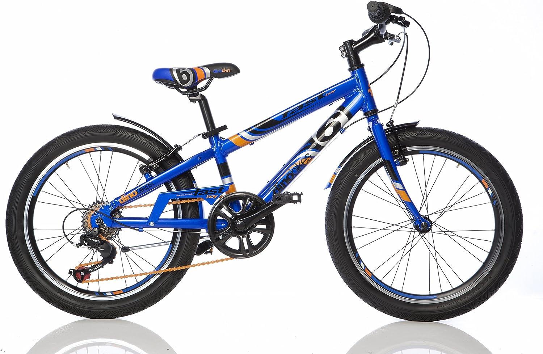 Bicicleta Niño 20 Pulgadas Dino Bikes Fast Boy Freno Delantero y ...